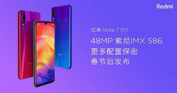 Xiaomi ra mắt Redmi Note 7 Pro chip Snapdragon 675 và camera 48MP
