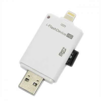Đầu đọc thẻ I-FlashDrive HD dành cho IOS/MAC
