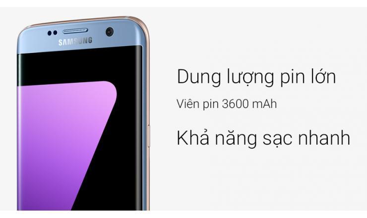 Điện Thoại Samsung Galaxy S7 Edge Xanh
