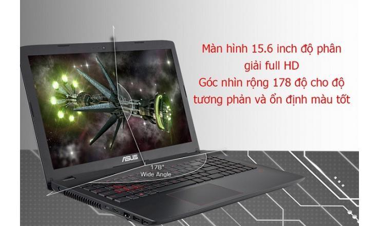 Laptop Asus GL552VX-DM070D i7-6700HQ/8GB/1TB/VGA 4G/15.6 inch/Dos