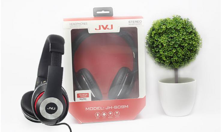 Tai nghe chụp tai JVJ JH-609M + Mic