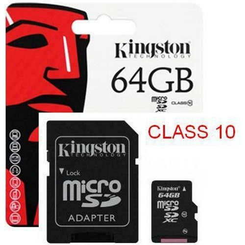 Thẻ nhớ Kingston Micro SD 64G Class 10