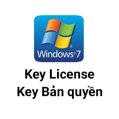Key Windows 7 Ultimate 32/64 BIT bản quyền vĩnh viễn