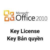 Key Microsoft Office 2010 Pro Plus 32/64 Bit bản quyền
