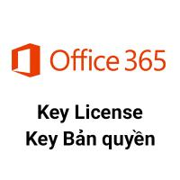 Key Microsoft Office 365 32/64 BIT bản quyền