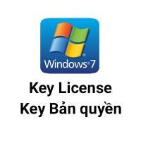 Key Windows 7 Home 32/64 BIT bản quyền vĩnh viễn