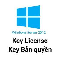 Key Microsoft Windows server 2012 R2 bản quyền