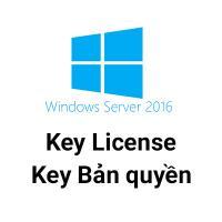 Key Microsoft Windows server 2016 R2 bản quyền