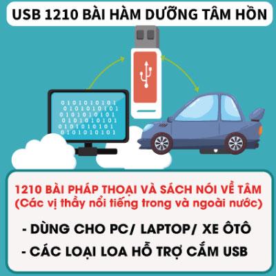 USB Pháp Thoại 1210 Bài Hàm Dưỡng Tâm Hồn
