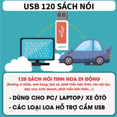 USB 120 Cuốn Sách Nói
