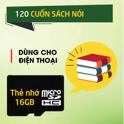 Thẻ Nhớ 120 Cuốn Sách Nói