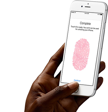 touch ID iphone 6s